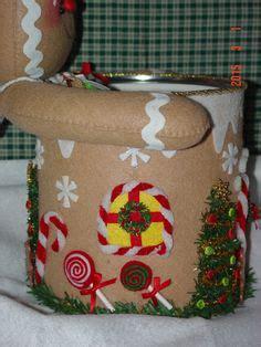 pan de jengibre fieltro dulces y galletas por simplysweetgifts milde natal natal pinterest natal