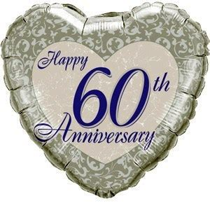 Best 60th (Diamond) Wedding Wishes & Quotes