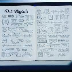 Bullet Journal Examples by 24 Tips On How To Make A Bullet Journal Gurl Com