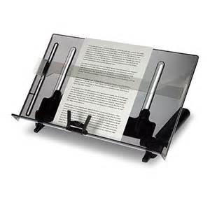 paper stand for desk vu ryte document holder opc ergonomics