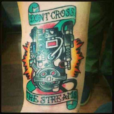proton tattoo ghostbusters proton pack ink d