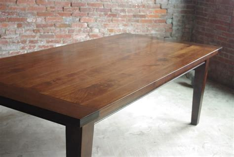 Custom shaker style farmhouse table by m saw shober