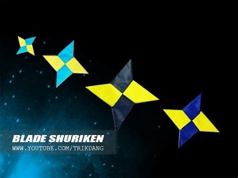 Origami Pronunciation - origami for how to make an origami shuriken blade