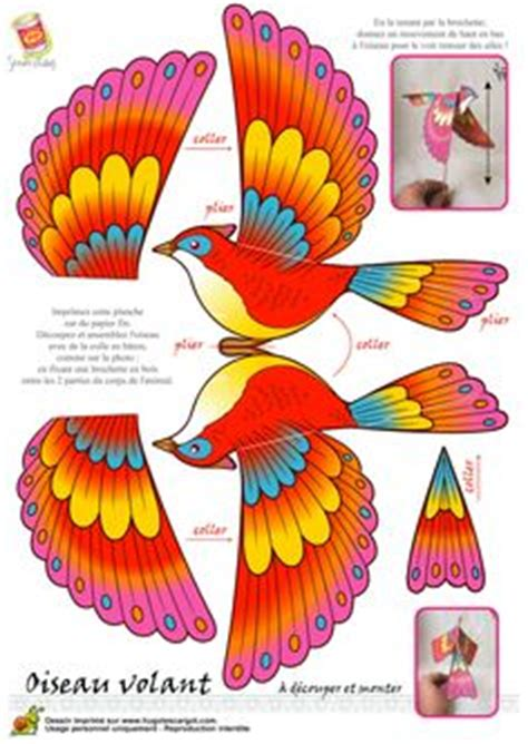 3d bird template 1000 images about craft birds on paper