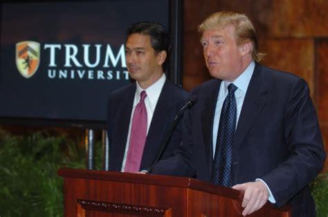 donald trump college trump u playbook heavy on sales tactics ny daily news