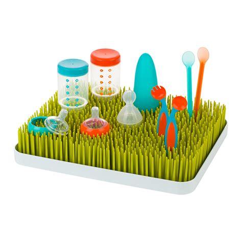 Boon B377 Lawn Countertop Drying Rack 813741011040 boon lawn countertop drying rack green baby
