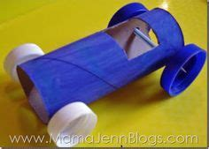 How Do You Make A Paper Car - cars toys and water bottles on