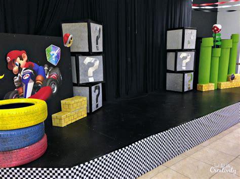 mario kart kids church stage design    creativity