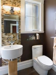 ideas to remodel a small bathroom small bathrooms big design hgtv