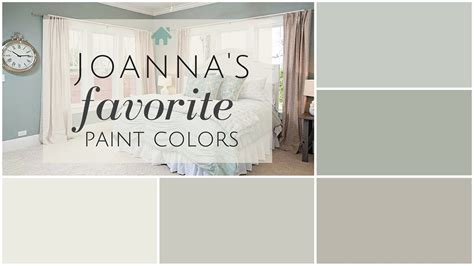 fixer paint colors joanna s 5 favorites the house