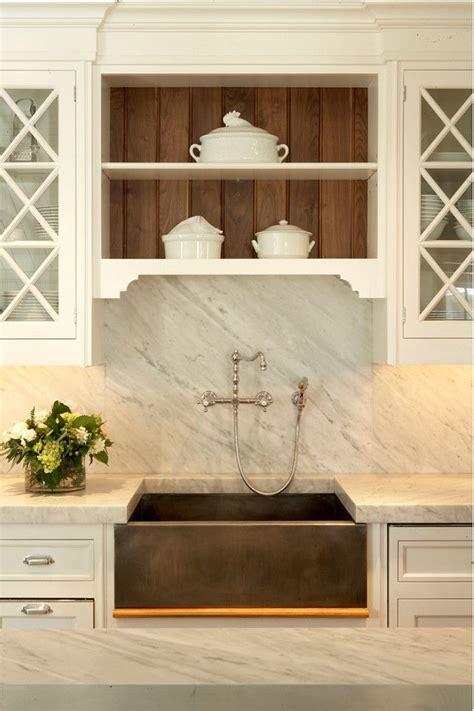 kitchen sink with backsplash kitchen with marble backsplash countertop with custom pewter farmer s sink