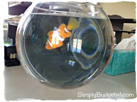 Desk Fish Bowl by Graduation Fish