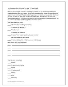 between sessions divorce worksheet therapeutic
