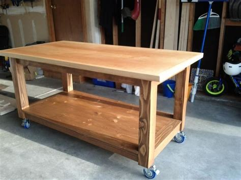 wood workbench diy projects craft table diy diy
