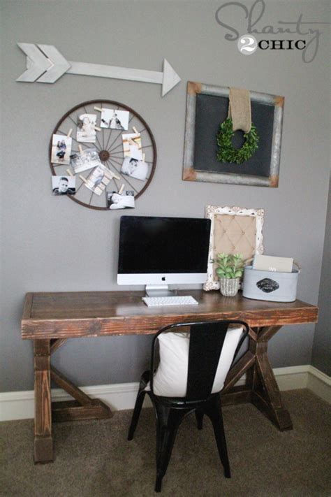 Diy Trestle Desk Diy Desk For 70 Shanty 2 Chic
