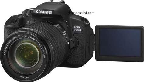 Kamera Canon 650d Tahun kamera dslr murah 2018 650d kameraaksi