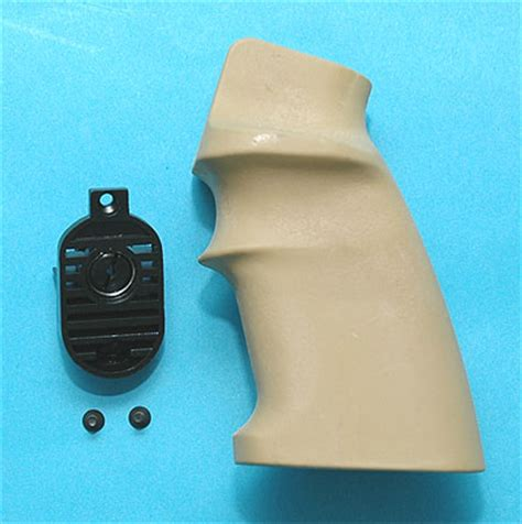 Gp Heat Sink Grip End For M16 Series Airsoft Aeg g p spr grip with heat sink end set sand airsoft tiger111hk area