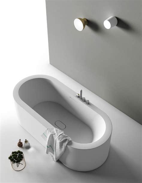vasca da bagno ovale vasca da bagno ovale in corian ooh