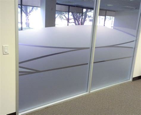 Glass Door Frosting Designs Frosted Glass Design Patterns For Office Cut Frosted Designs Office Fitout
