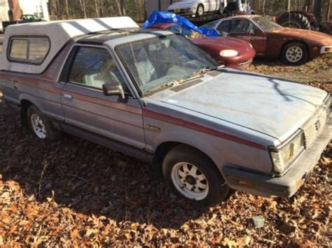 subaru brat turbo for sale 1987 subaru brat turbo 4x4 for sale in wisconsin
