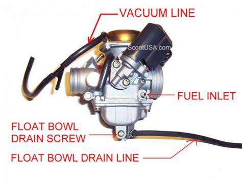 50cc scooter carburetor diagram 150cc scooter vacuum line diagram 150cc free engine