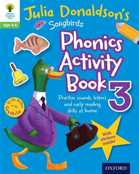 My Stickers And Coloring Book 3 D 15 B14 80863 donaldson s songbirds phonics activity book 3