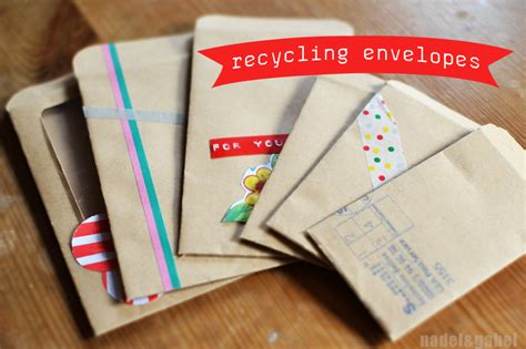 Envelopes With Paper - recycle small folded paper envelopes nadel gabel