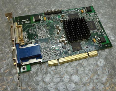 Vga Card 32 Bit 32mb matrox millennium dvi vga pci 64 bit graphics card g45fmdvp32db ebay