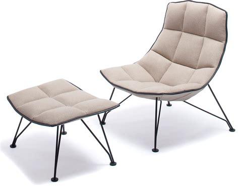 Jehs laub Wire Lounge Chair & Ottoman   hivemodern.com