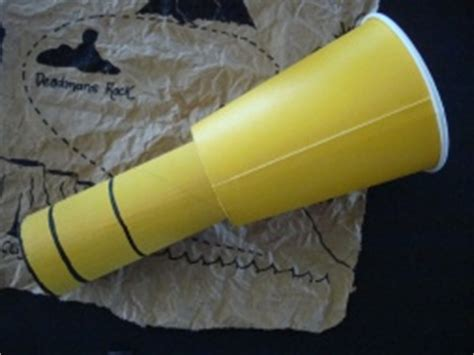 How To Make A Telescope Out Of Paper - spyglass telescope