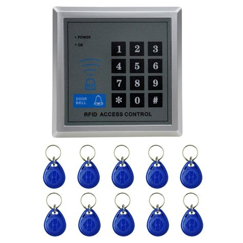x1 rfid single door access system with keypad 10