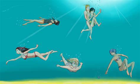 Underwater Bathtub Girls Kh Girls Underwater By Jopel100 On Deviantart