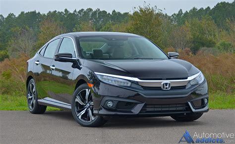 Civic Sedan Review by 2016 Honda Civic Sedan Touring Review Test Drive
