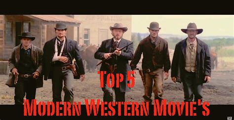 Film Cowboy Recent | top 5 modern western movie s youtube