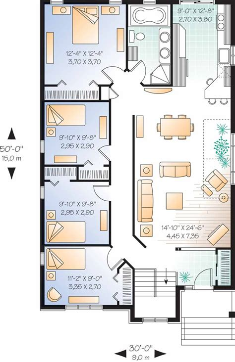 4 Bedroom Cottage House Plans by 301 Moved Permanently
