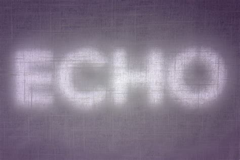 echo pattern meaning quot echo quot by christopher d mullens the last green valley