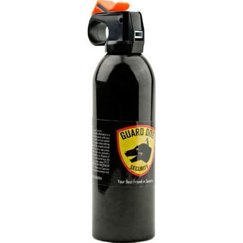 pepper spray for dogs guard security master fogger 16 oz pepper spray