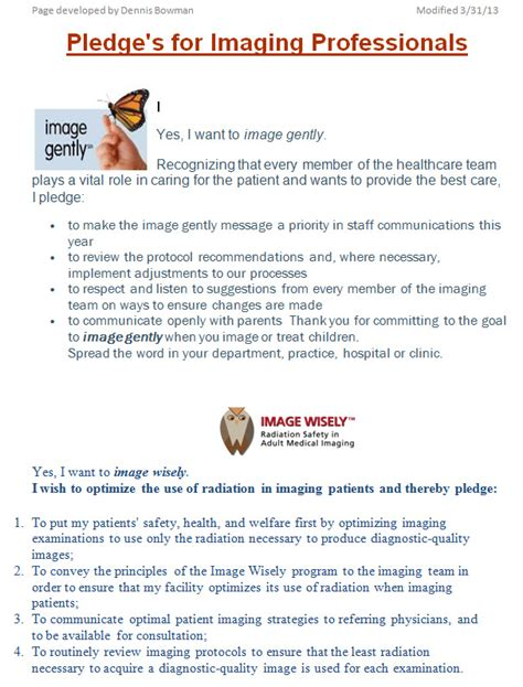 Image Wisely Pledge