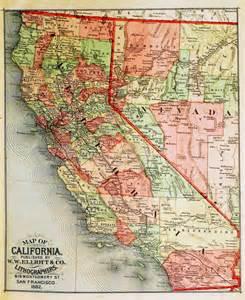 california maps circa 1882