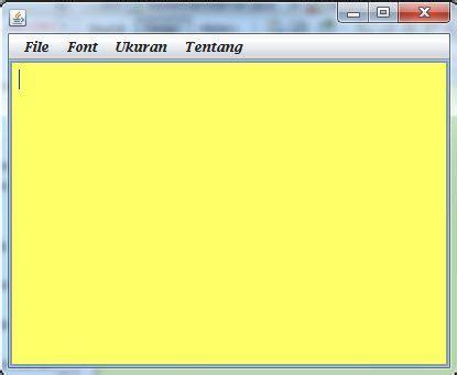 membuat game java dengan notepad membuat aplikasi notepad dengan java oop ra
