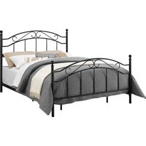 Metal Bed Frame Headboard Size Metal Bed Frame Headboard Footboard Contemporary Black Finish New Affcart