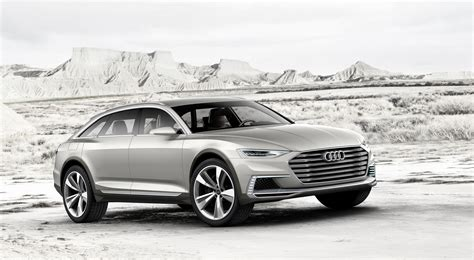 Audi Allroad Hybrid Audi Prologue Allroad Concept Is A Jacked Up Hybrid