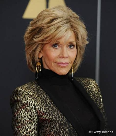 back view of jane fondas hair jane fonda glows at grace and frankie premiere