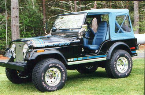 jeep cj hood cj renegade spotters guide 1976 1982 renegade jeepfan com