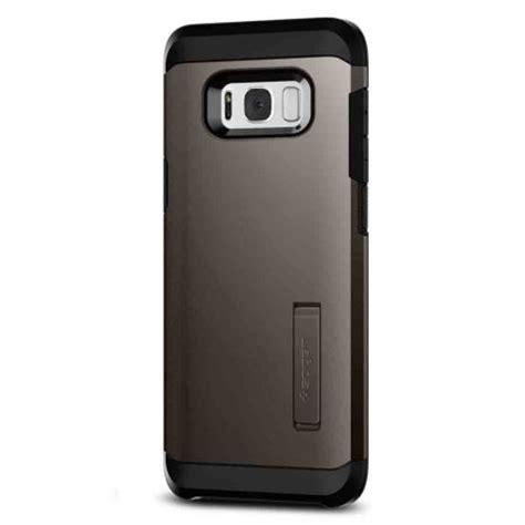 Spigen Iron Armor Samsung Galaxy S8 spigen tough armor samsung galaxy s8 plus gunmetal mobilezap australia