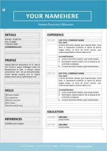 editable cv template jordaan clean resume template