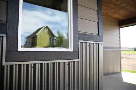 Exterior Wainscot rezibond as a wainscot exterior house ideas steel metals and wainscoting