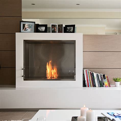 ecosmart aspect modern ventless designer fireplace