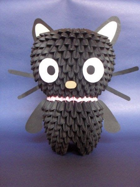 origami 3d cat tutorial 116 best 3d origami d images on pinterest modular