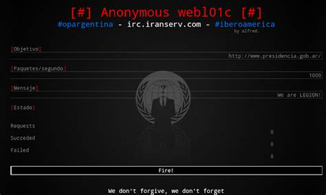 mobile loic anonymous hackers develop webloic ddos tool for android